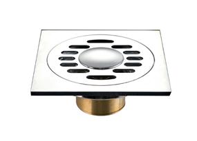 37642-0100铜洗衣机地漏(T型弹簧)
