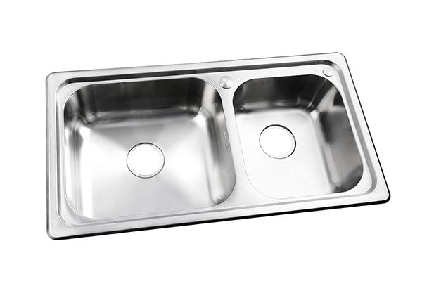 HH-5S8546-5200-304不锈钢双盆